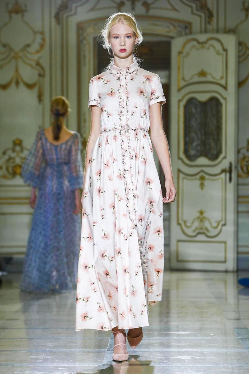 Louisa Beccaria Fashion Show, Ready to Wear Collection Spring Summer 2016 in Milan